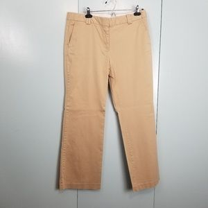 LOFT Beige pants Julie fit 12P -P1